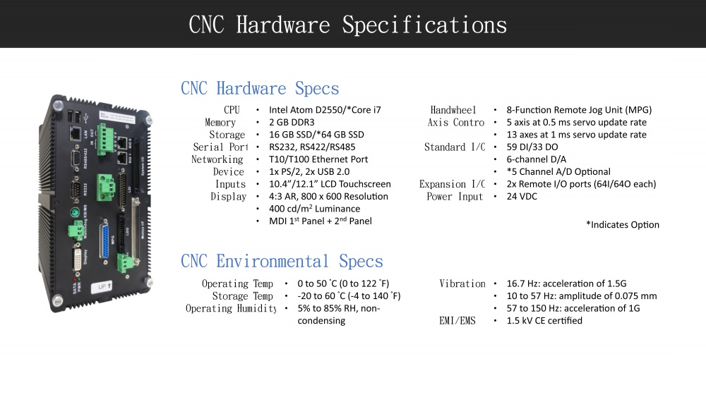 CNC Controller specification-1